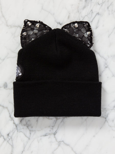 Bad Kitty Beanie (Black)