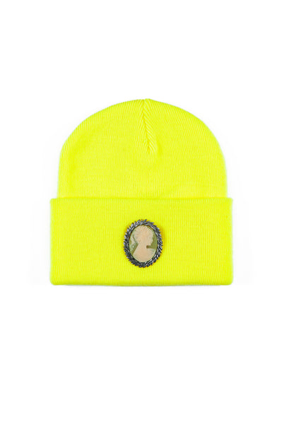 CAMEO BEANIE (ACID YELLOW)