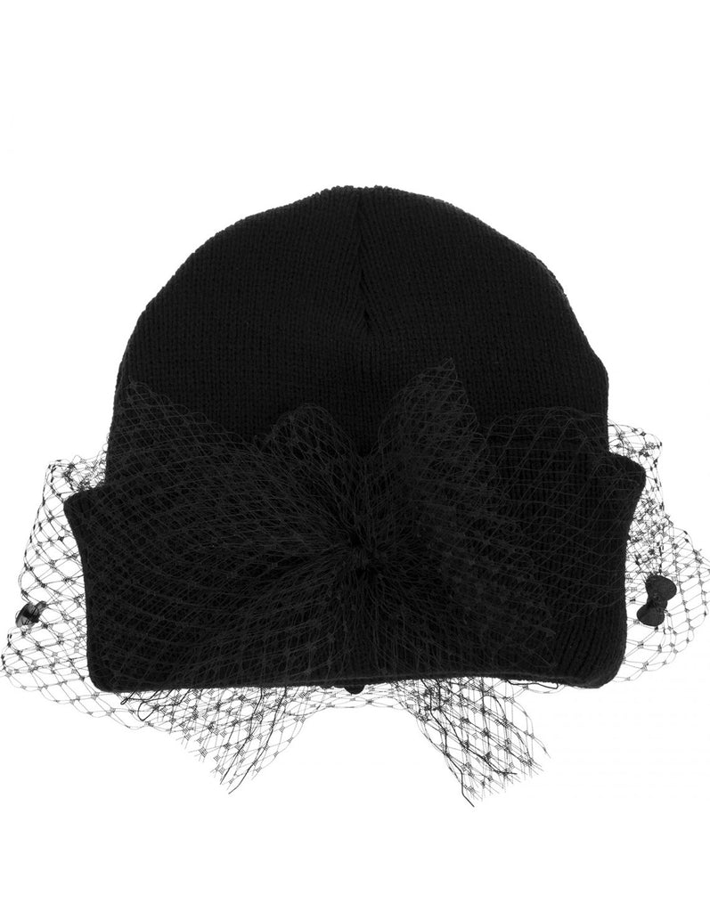 Hello Kitty Mesh Bow Beanie Short