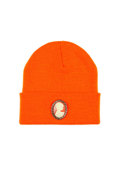 CAMEO BEANIE (NEON ORANGE)