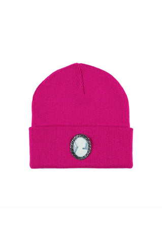 CAMEO BEANIE (HOT PINK)