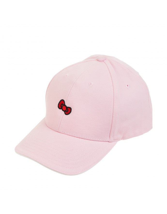 Hello Kitty Bow - Baseball Cap (Black / Pink)