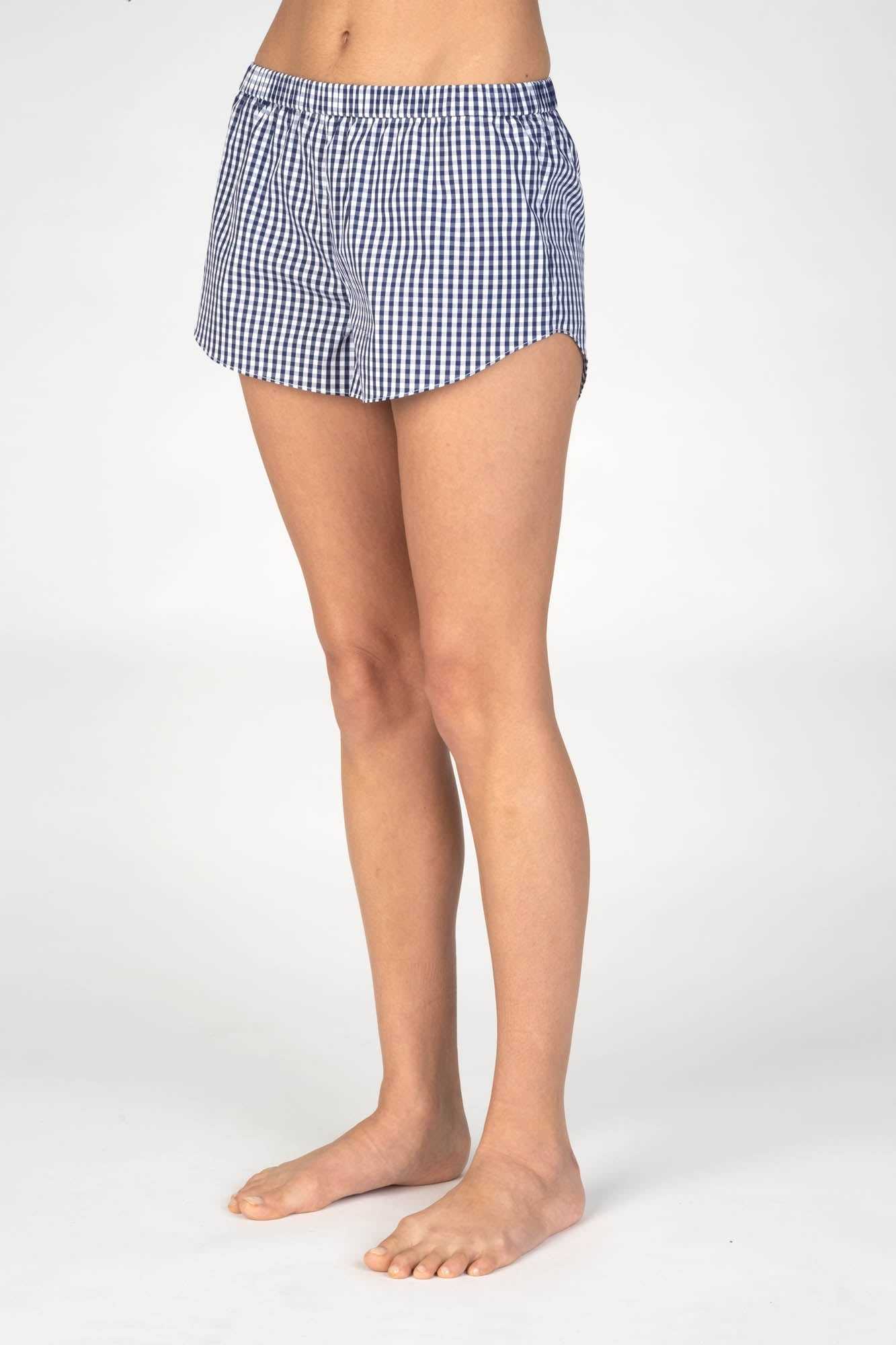 Reese Navy Gingham