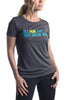 Run & Not Grow Weary- Women's Teal/Lime