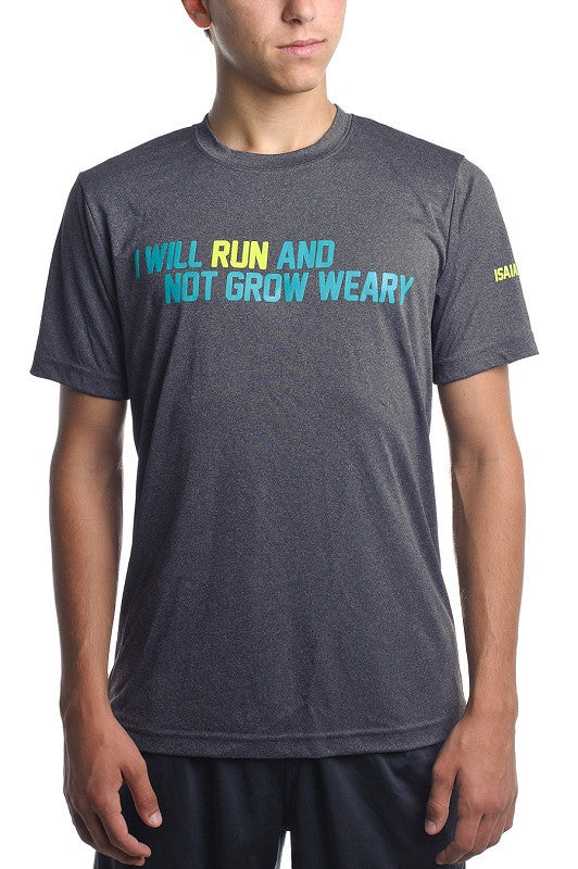 Run & Not Grow Weary- Men's