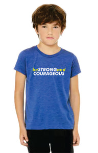Youth Be Strong & Courageous Tee