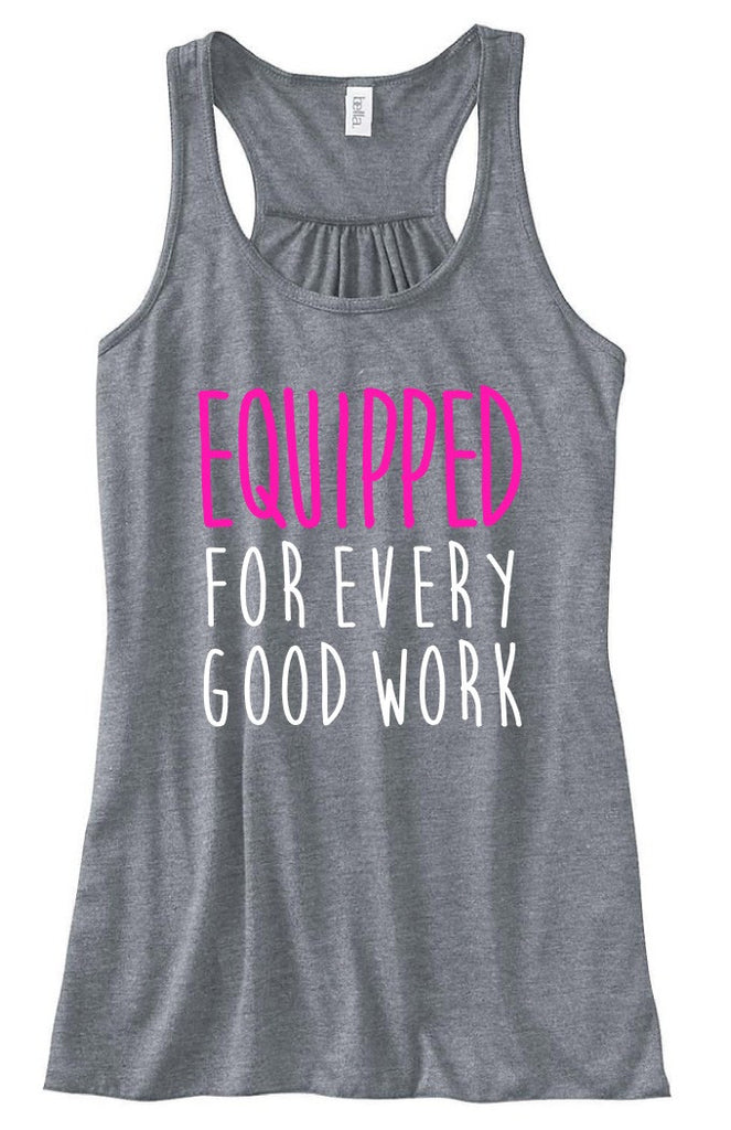 Equipped - Women's Tank - Heather Gray