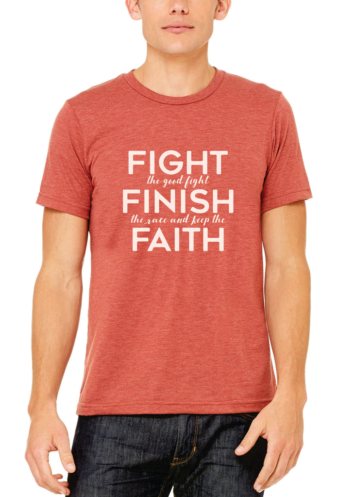 Fight The Fight - Mens Tee