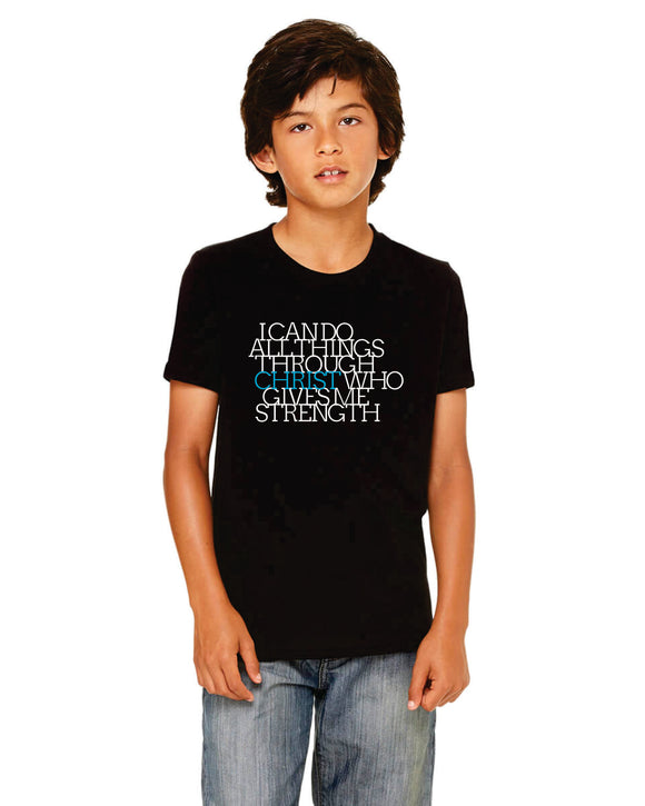 Youth I Can Do All Things Tee