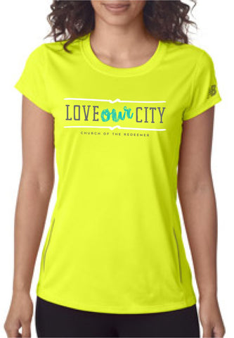 Vacationing By Serving - Women's Technical Tee