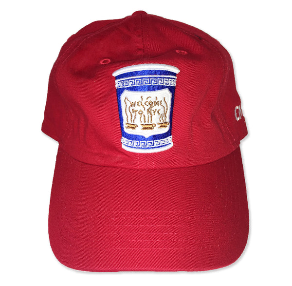 NYC Coffee Cup (Strapback) - Classic Material NY