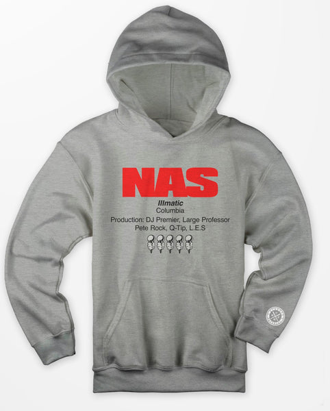 Nas (the source) Hoodies