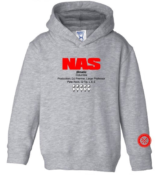 Nas-The Source (Illmatic) Kids Hoodies