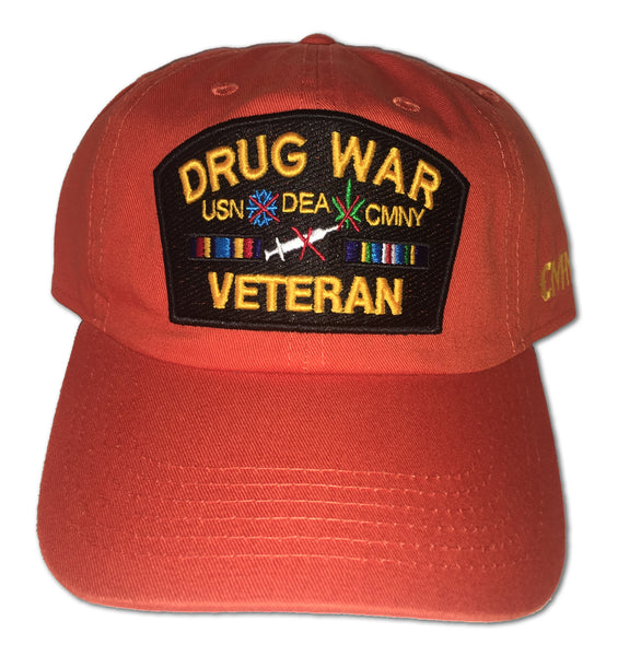 Drug War Veteran Dad Hats
