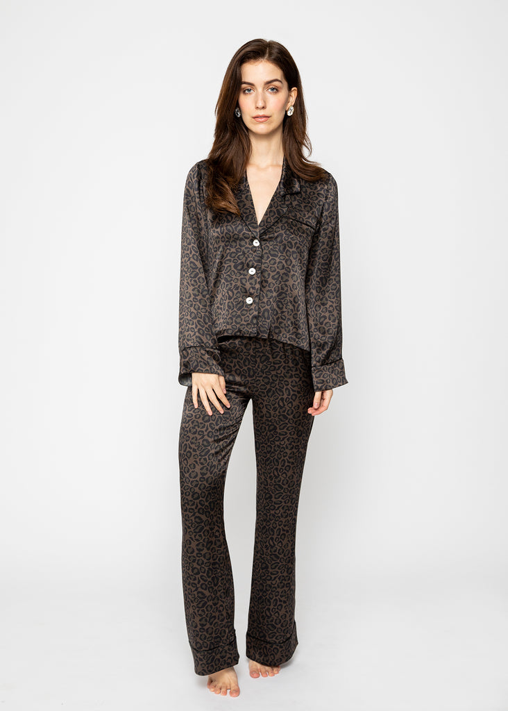 Luxury silk loungewear, silk pyjama suit