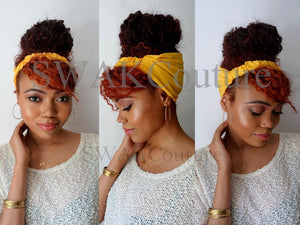 satin lined headband wrap for natural curly hair wide headband wrap turban