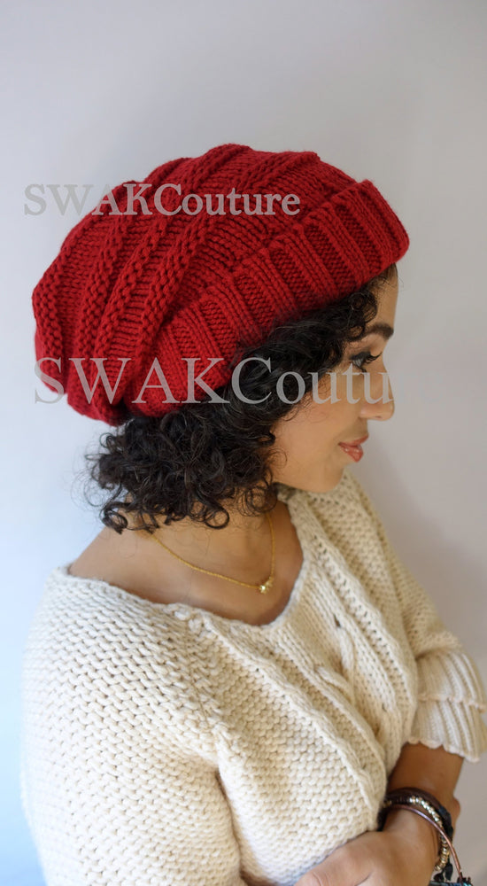 CARMEN Satin Lined Beanie - Taupe (or 17 Color options)