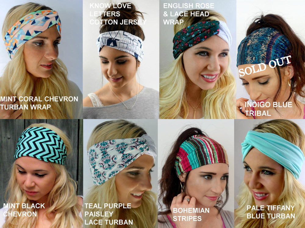 wide headbands cute yoga headbands head wraps for natural hair