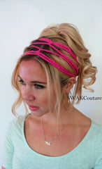 goddess headband festival head wrap hippie headband crochet cotton headband coachella hair accessories