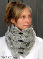Vented Toggle Cowl Scarf