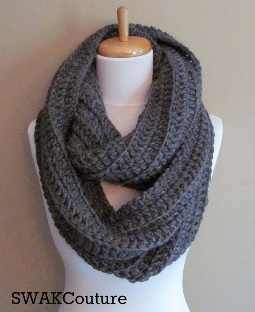 Chunky Scarf Handmade Scarf Unisex Scarf Fashion Scarf Wool scarves Affordable Scarves Knit Scarf Crochet Scarf Snood