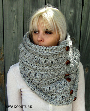 Chunky Scarf Handmade Scarf Lace Scarf Wool Scarf Unisex Scarf Fashion Scarf Custom scarves Affordable Scarves crochet Scarf Knit Scarf chic Scarf Snood