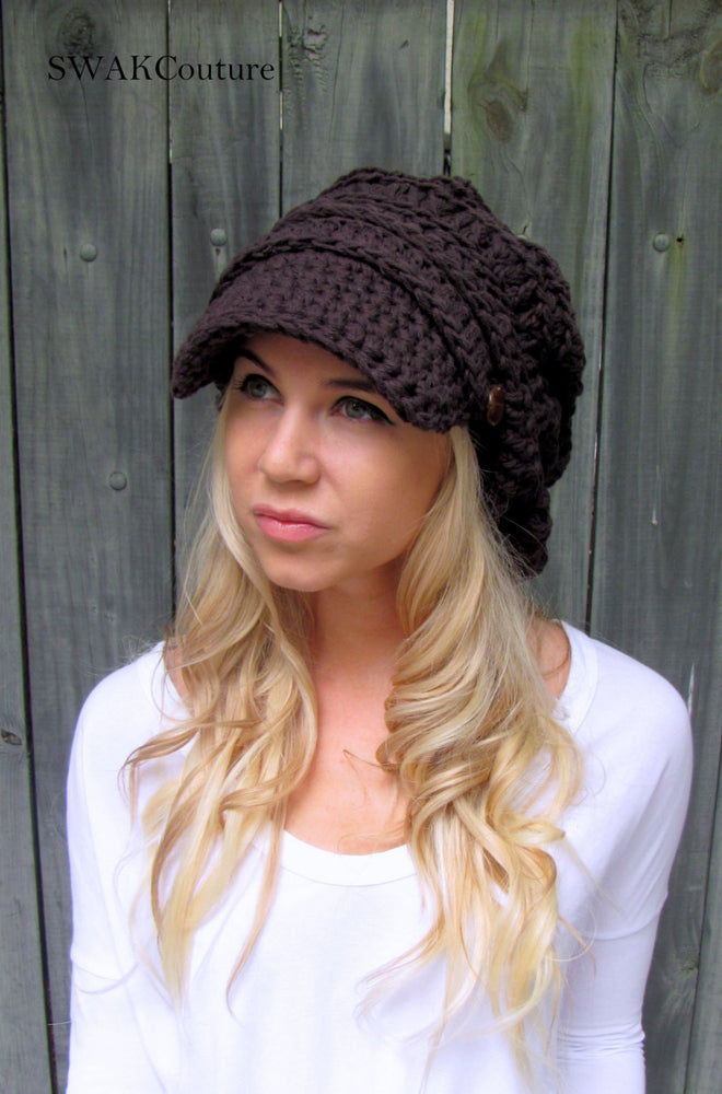 Nina Newsboy Cap - Black or Choose your color