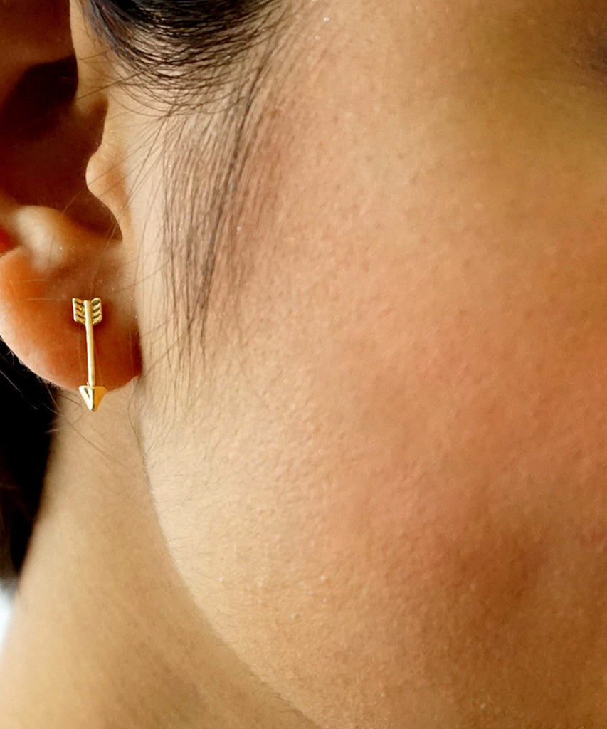 of back lovely flat plated earrings style ear tiny bali hoops tribal beautiful hoop balinese gold stud
