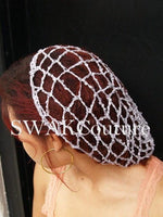LACE Slouchy CAP - Teal Tone Mix or CHOOSE Color