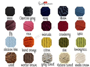 Lofty Hooded Scarf (20 color options)
