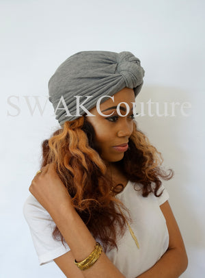 Knot Jersey Turban - Dusty Rose or Choose Color