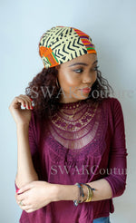 MOD KENTE Satin Lined Headband Wrap