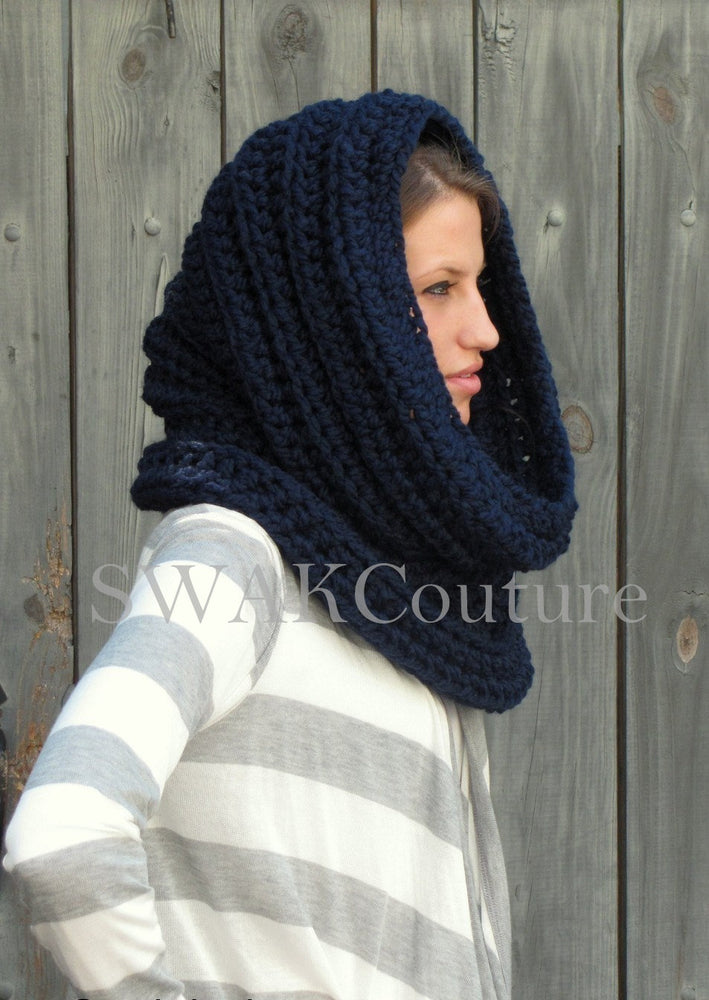 swakcouture oversized scarf hooded scarf handmade scarf noni scarf