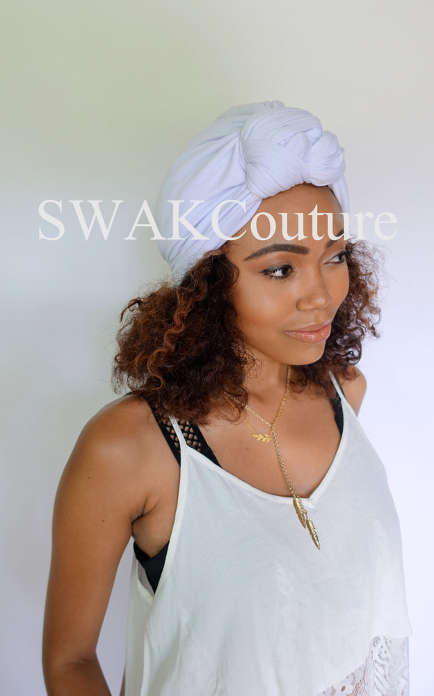Knot Jersey Turban - Black or Choose Color