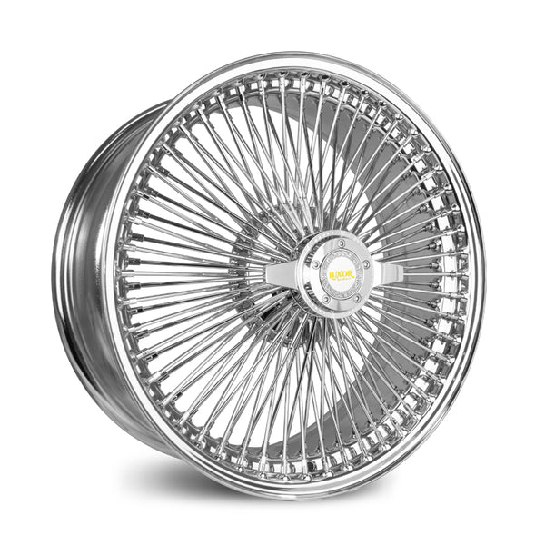 20X8 FWD 100 STRAIGHT<br> LACE CHROME