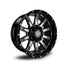 ROAD RAGE HANA 22X10</br>BLACK CONTRAST WHEELS
