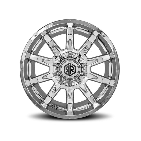 ROAD RAGE HANA 22X10</br>CHROME WHEELS