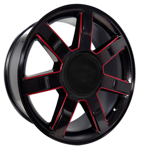 22X9 REPLICA STYLE #9<br>PROLINE WHEELS