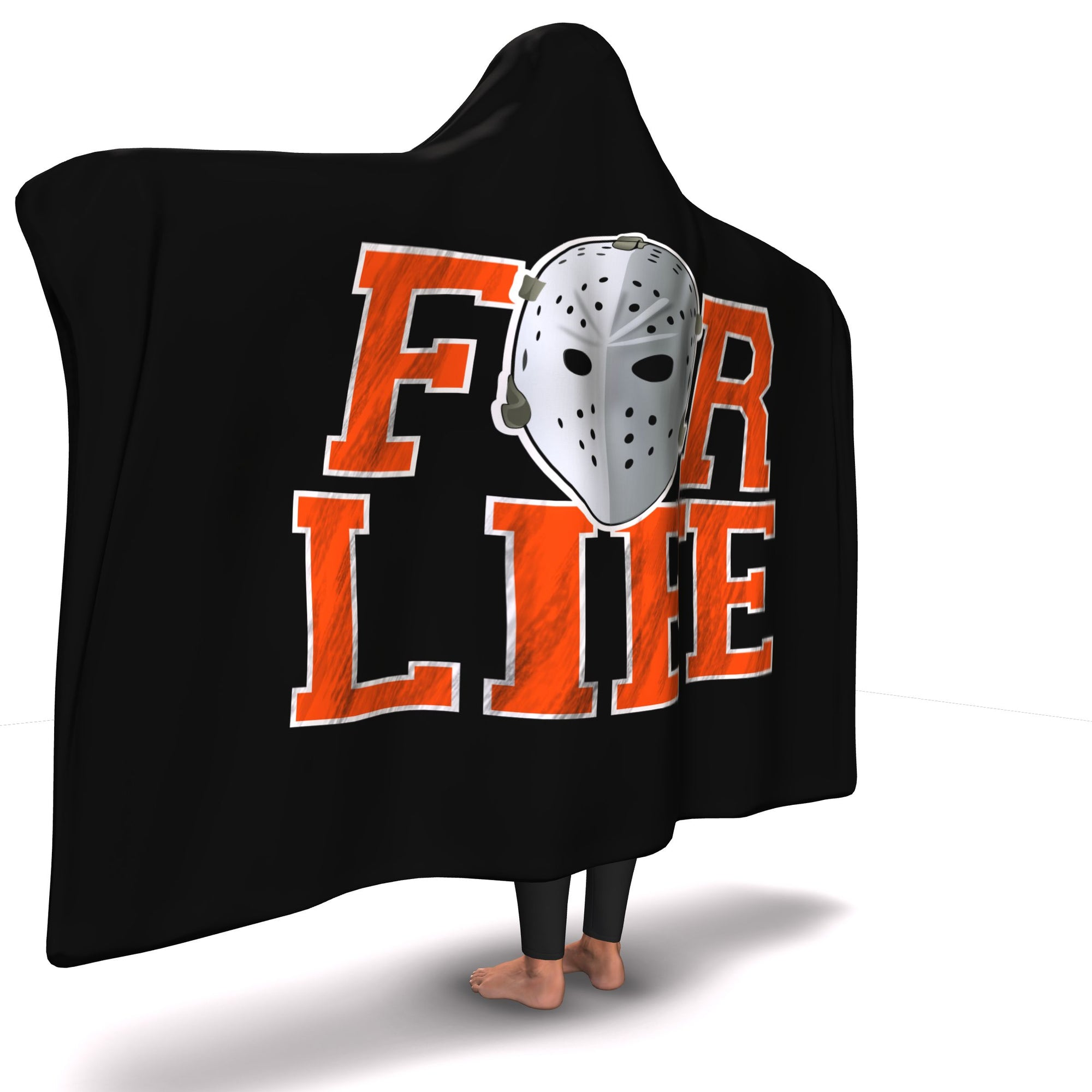 Philly Hockey For Life Hooded Blanket - Generation T cf1655511