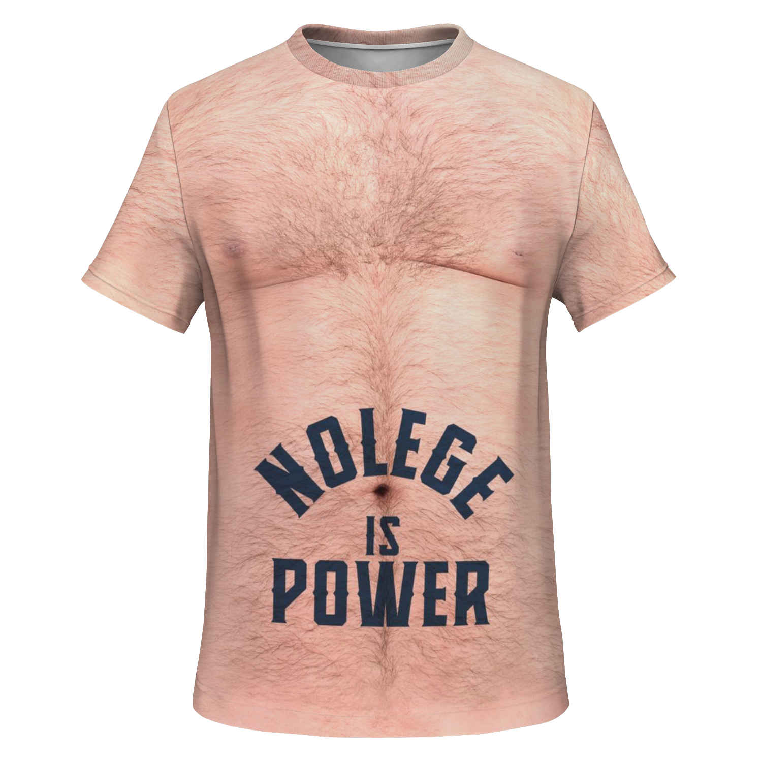 Nolege Is Power Unisex All Over T-Shirt