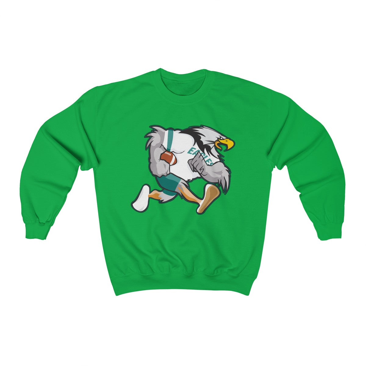 Old School Philly Football Bird Unisex Heavy Blend™ Crewneck Sweatshirt