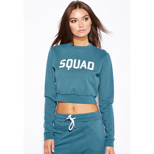 SQUAD Crop Sweater - Generation T