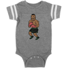 Retro Tyson Punchout Inspired Infant Football Bodysuit
