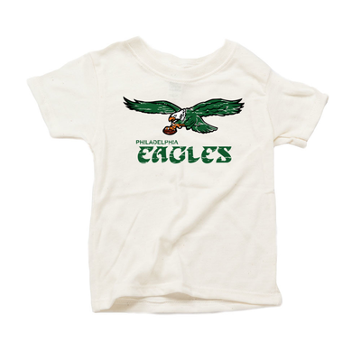 Retro Philadelphia Eagles Inspired Eco Tri Blend Infant T-Shirt