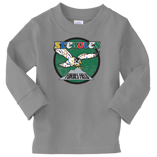 Retro Steagles Long Sleeve Toddler Shirt - Generation T
