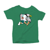 Retro Philadelphia Bird Football Inspired Toddler Tee Shirt - Generation T