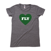 Fly Philly Fly Triblend Old School Gym Tee