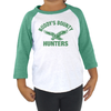 Buddy's Bounty Hunters Toddler Tri Blend Raglan Baseball Shirt