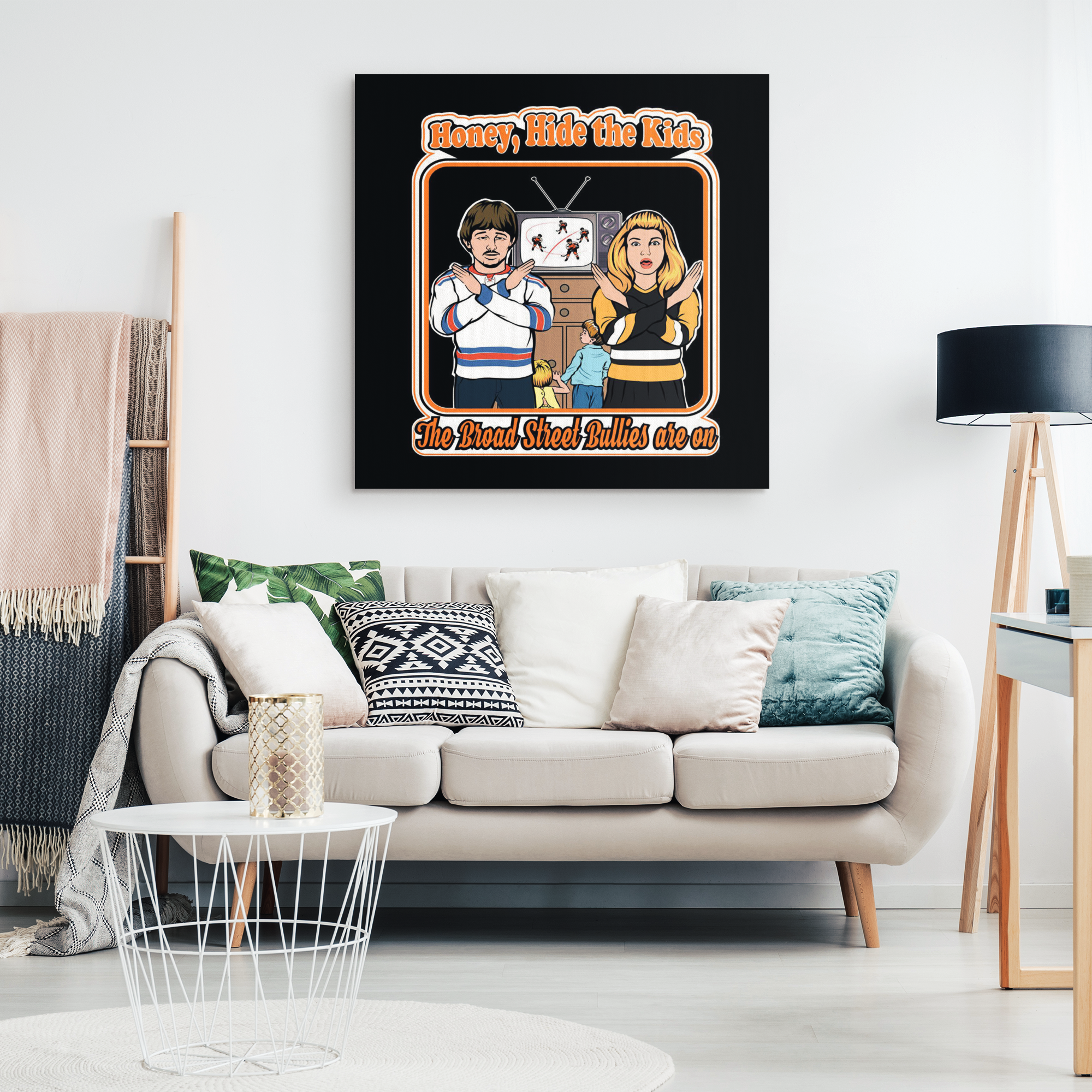 The Broad Street Bullies Are On Canvas