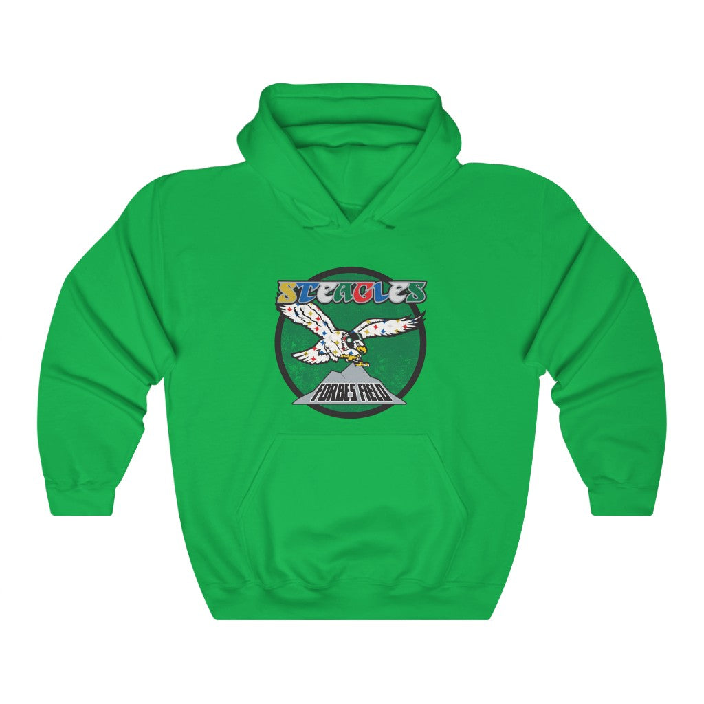 Retro Steagles Unisex Heavy Blend™ Hooded Sweatshirt